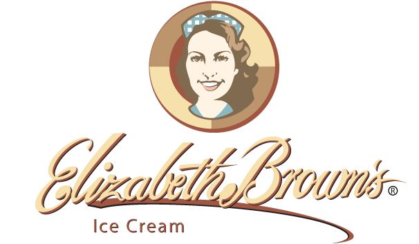 Elizabeth Browns Premium Ice Cream logo